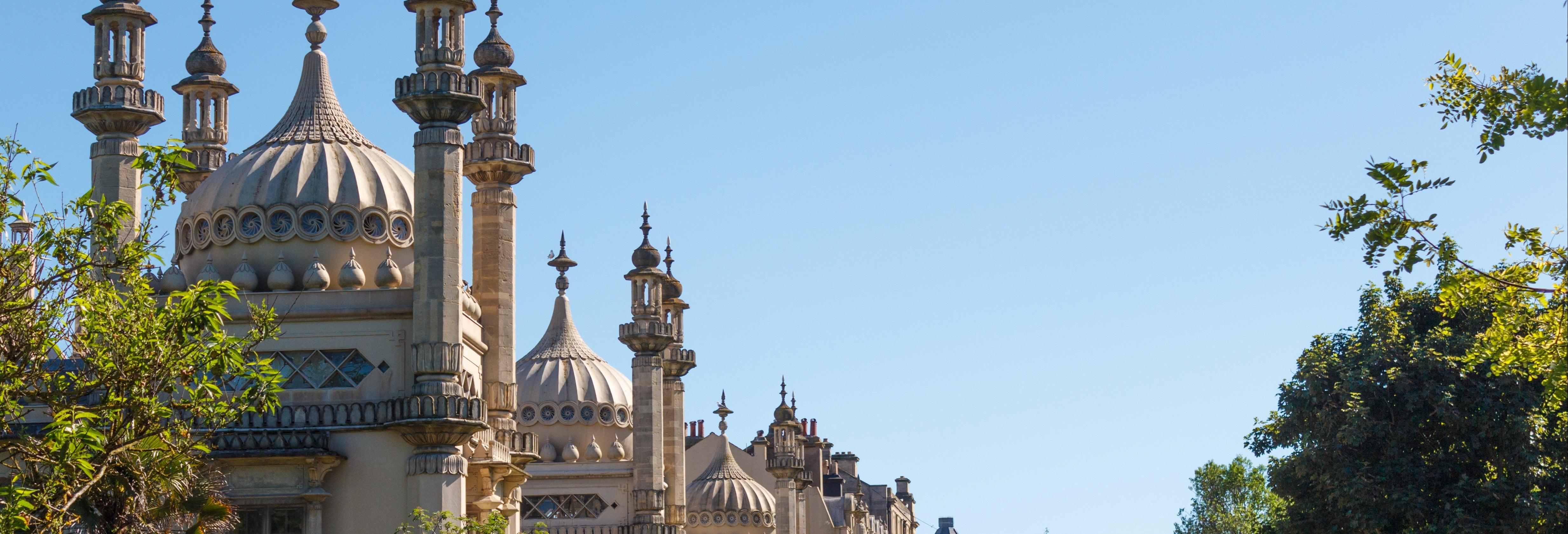 Ticket d'entrée pour le pavillon royal de Brighton