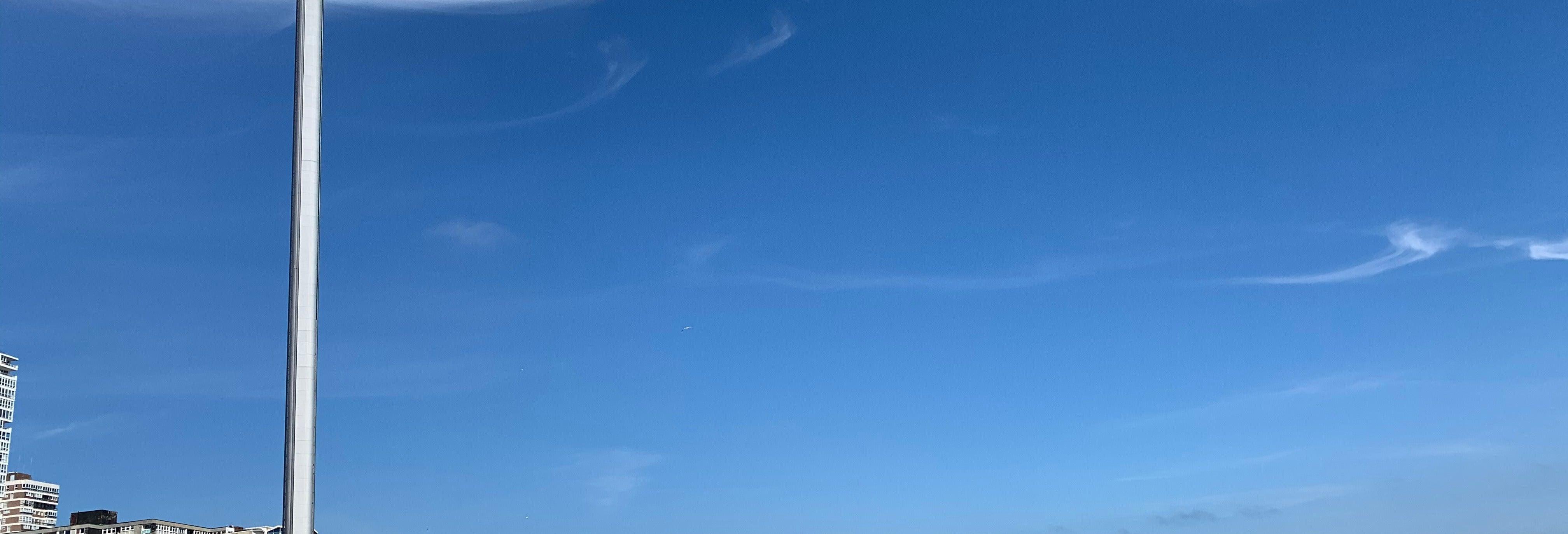 Entrada a la torre observatorio de Brighton