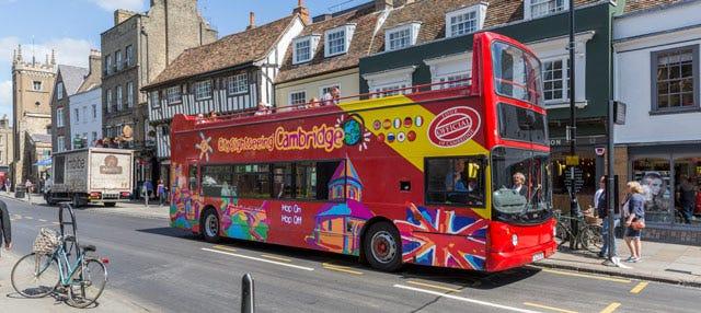 Cambridge Hop On Hop Off Bus Tour