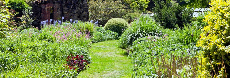Entrada a los jardines de Mount Ephraim
