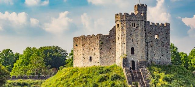 Entrada al castillo de Cardiff