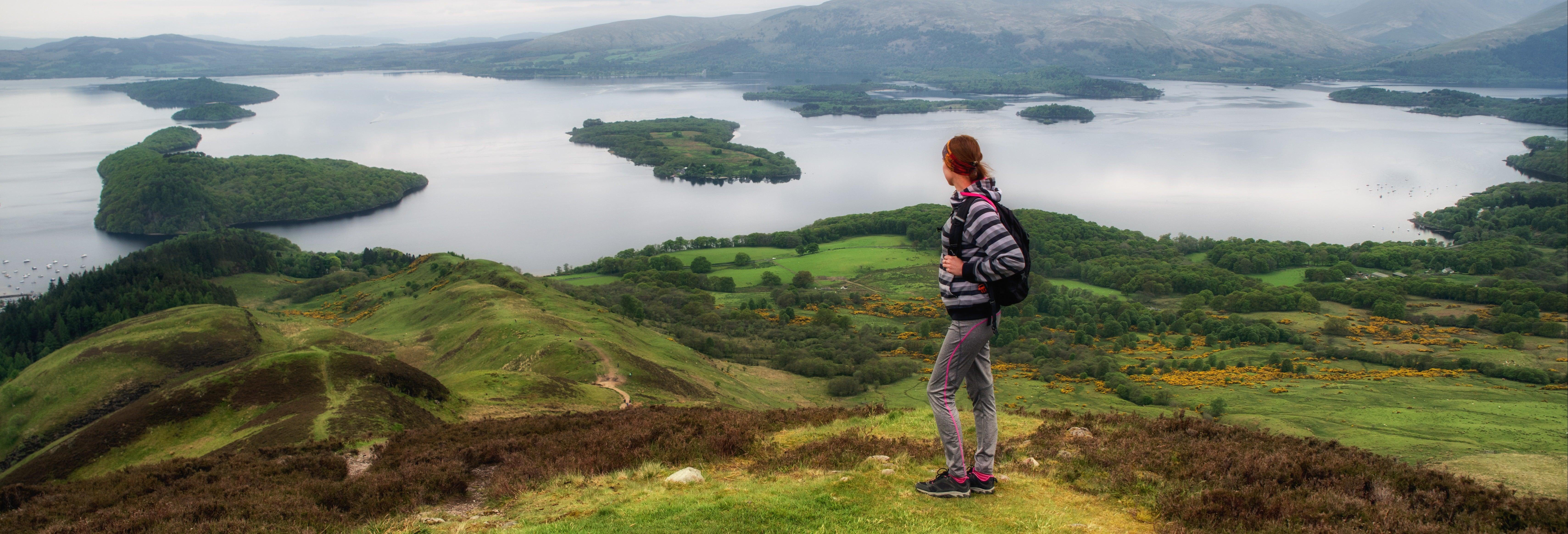 Excursão a Glasgow, lagos Lomond e Katrine