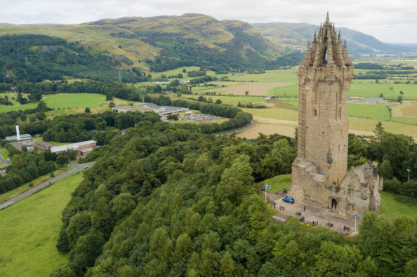 Monumento a William Wallace en Stirling