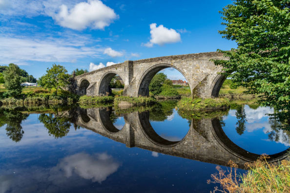 Puente de Stirling, donde Wallace luchó contra los ingleses