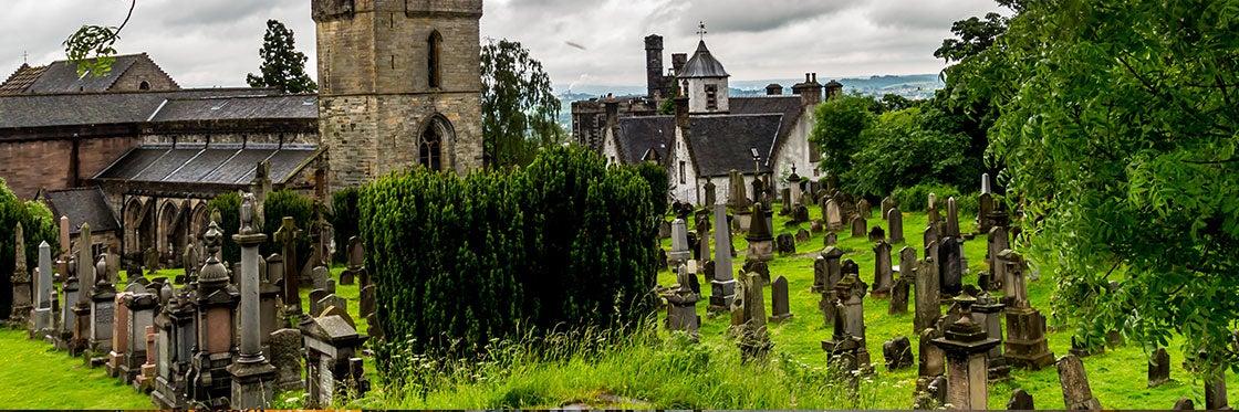 Églises et cimetières à Édimbourg