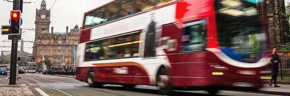 Transports à Édimbourg