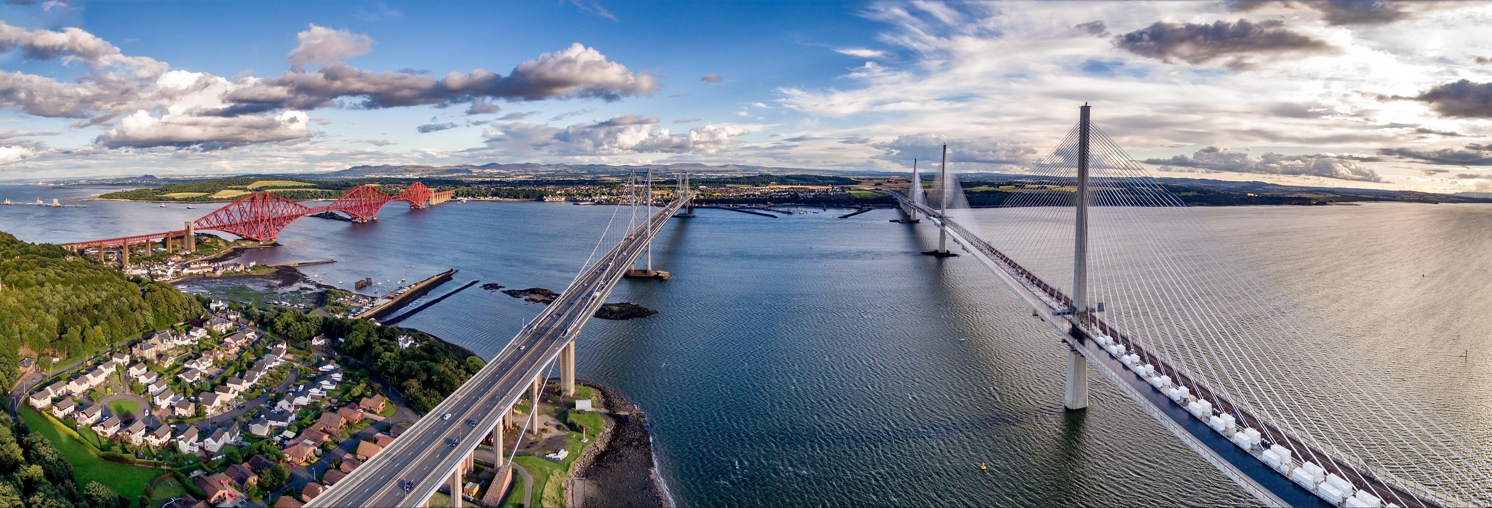 Paseo en barco por los puentes del Forth