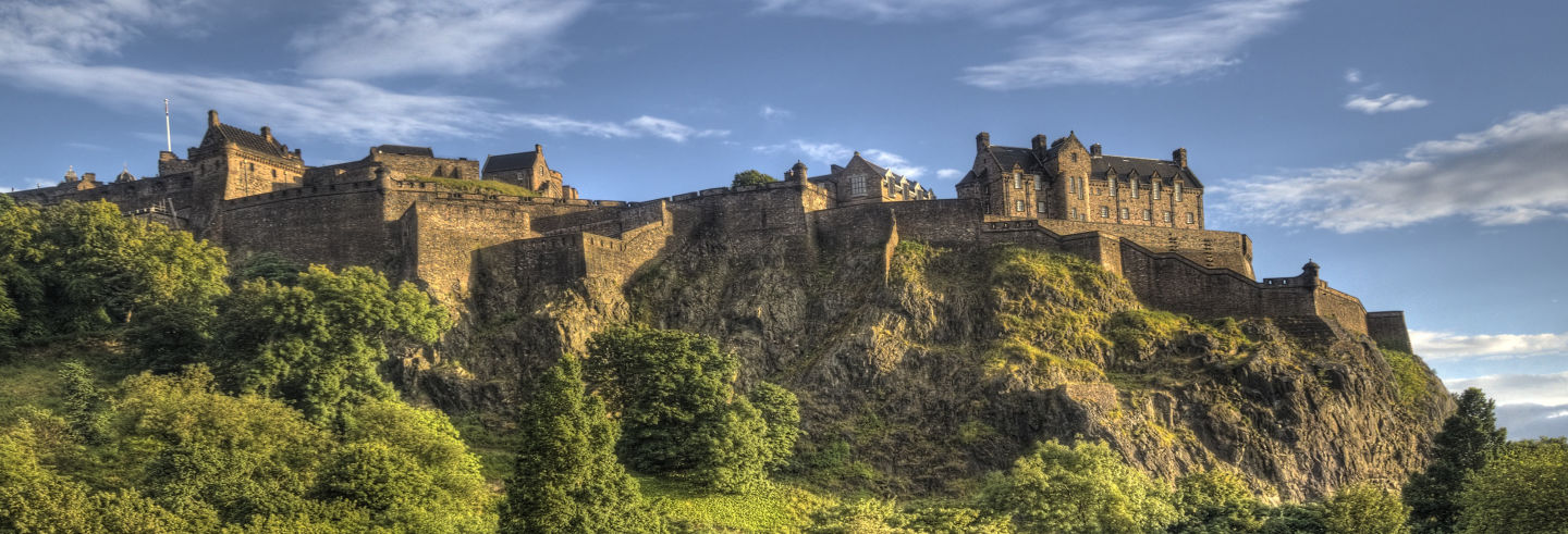 Tour del Castello di Edimburgo