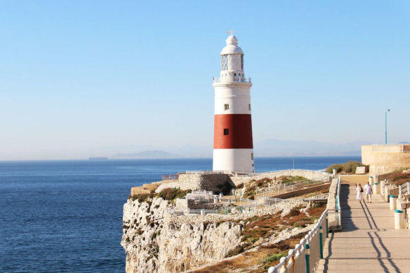 The lighthouse of Europa Point