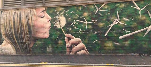 Tour de los murales de Glasgow