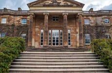 Entrada a los jardines del castillo de Hillsborough
