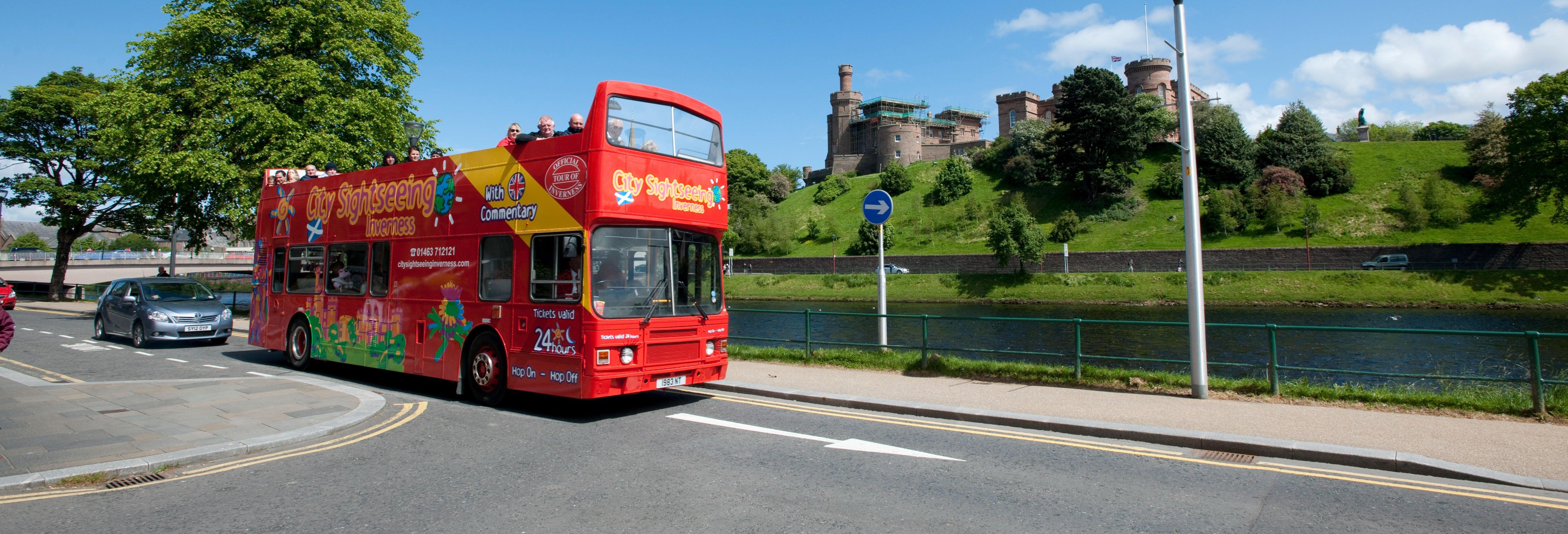 Autobus turistico di Inverness