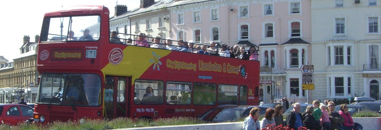 Bus touristique de Llandudno