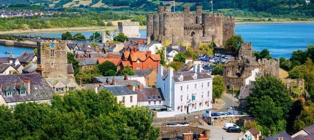 Excursion aux châteaux de Conwy, Dolbadarn et Caernarfon