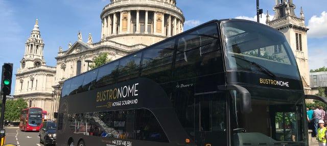 Autobús gastronómico de Londres