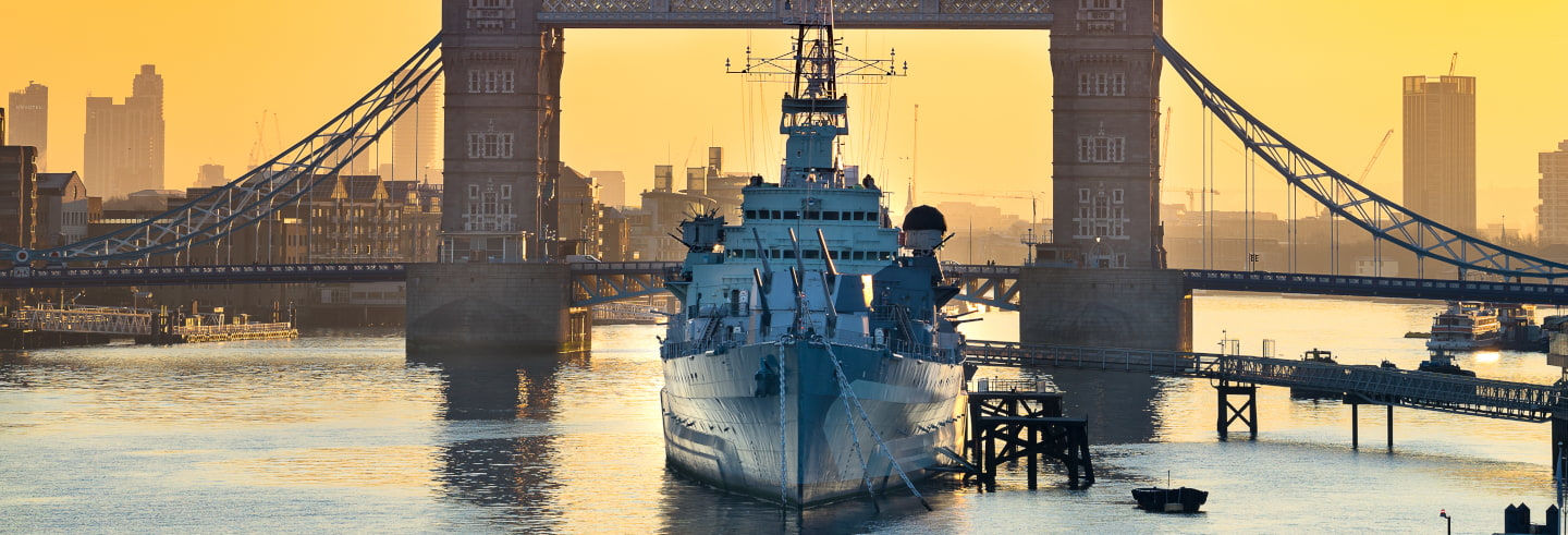 Entrada al HMS Belfast