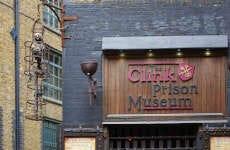 Billet pour le musée de la prison Clink