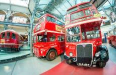 Entrada al Museo del Transporte de Londres