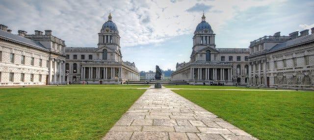 Entrada al Old Royal Naval College
