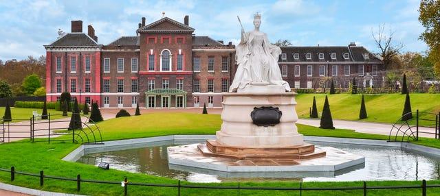 Entrada al Palacio de Kensington