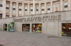 Entrada a Shrek's Adventure