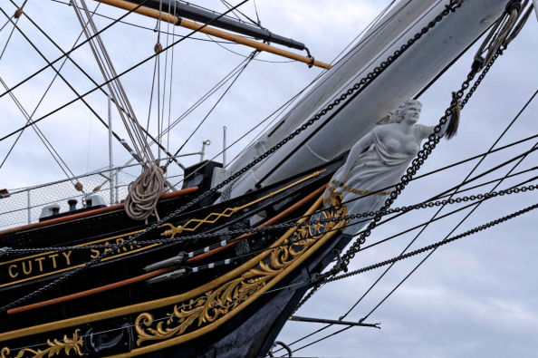 Details on the Cutty Sark
