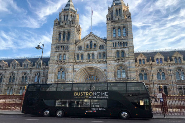 Gastronomic Bus by the Natural History Museum
