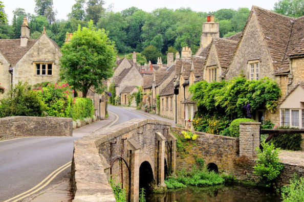 The beautiful Cotswolds countryside