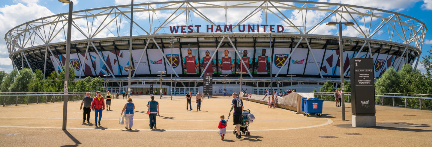 Tour dell'Olympic Stadium di Londra