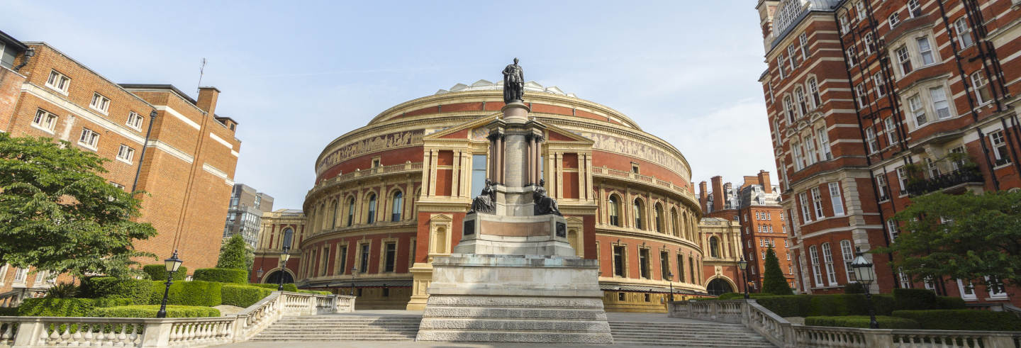 Visita guiada por el Royal Albert Hall