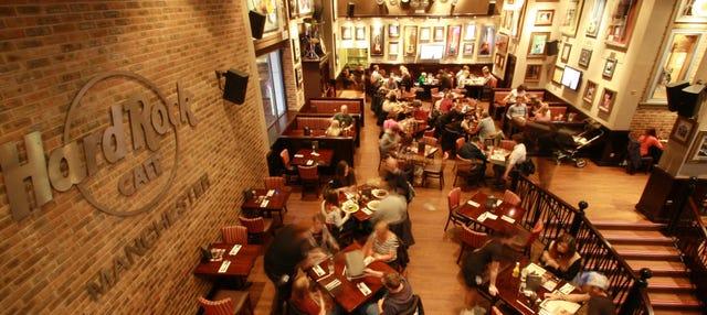 Hard Rock Cafe Manchester sin colas