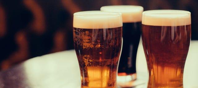 Tour de la cerveza por Mánchester
