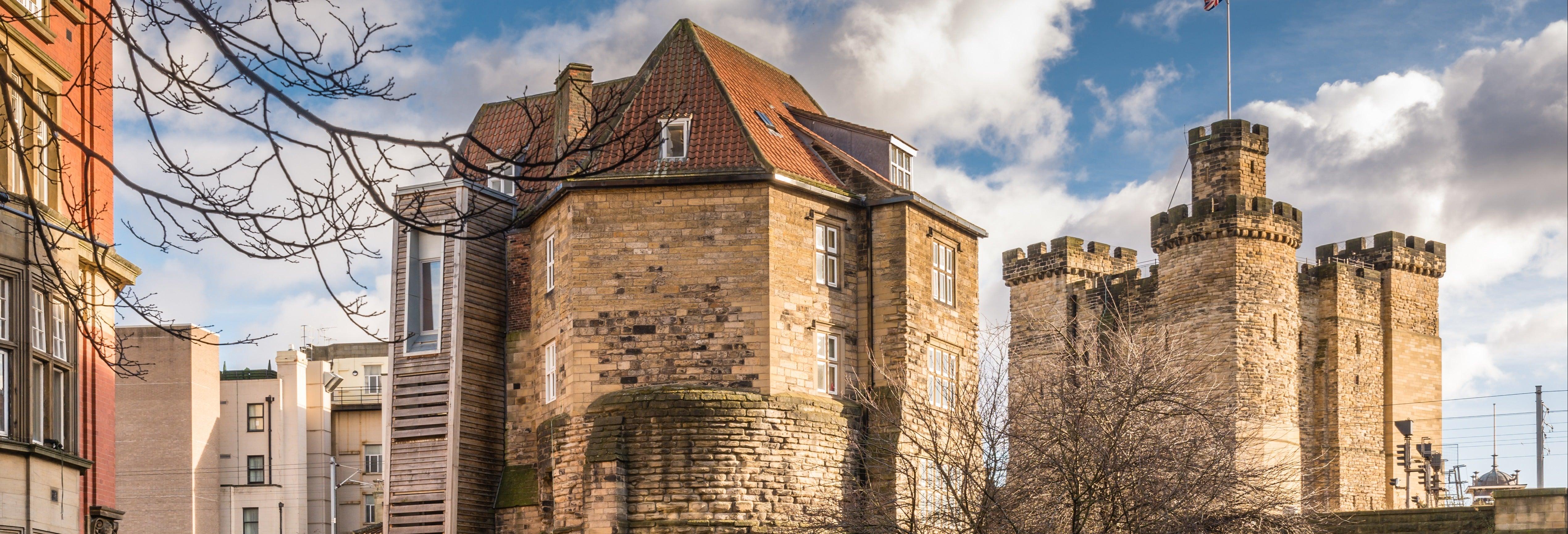 Entrada al Castillo de Newcastle