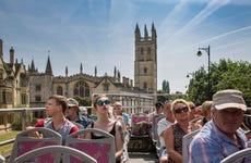 Autobús turístico de Oxford