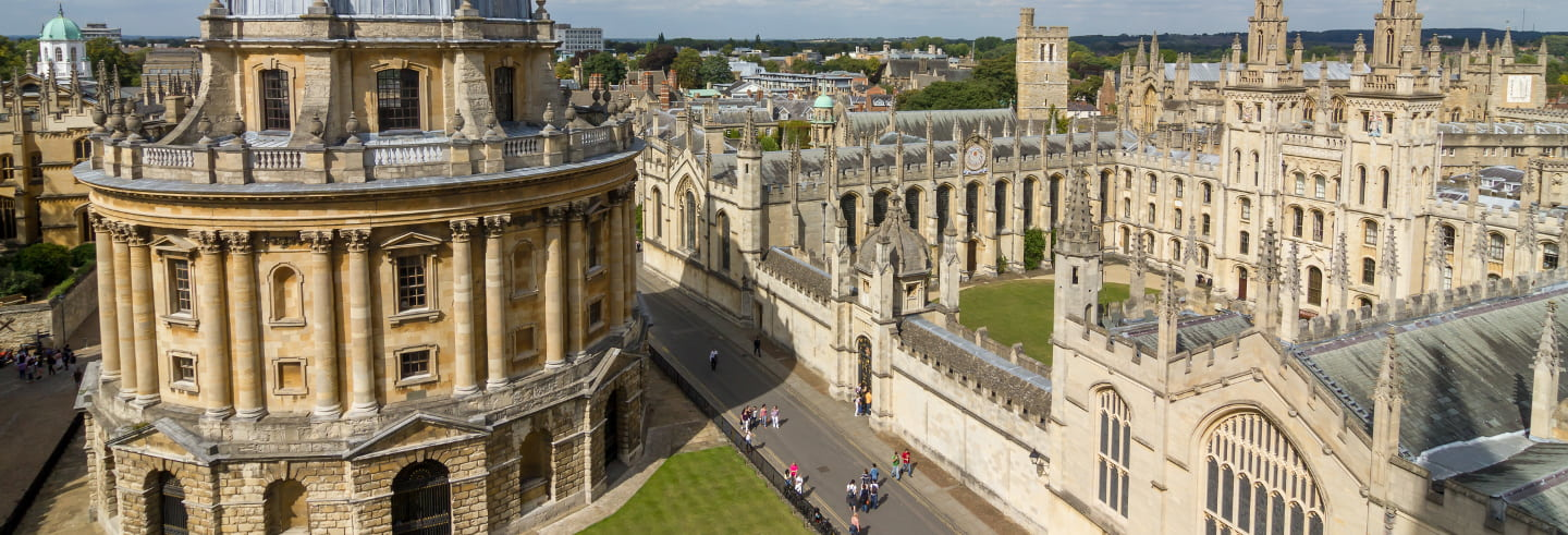 Visita guiada por Oxford
