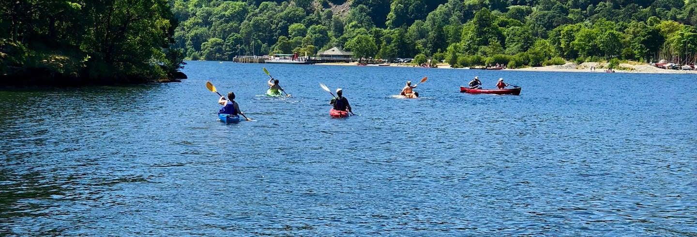 Tour del lago Ullswater in kayak