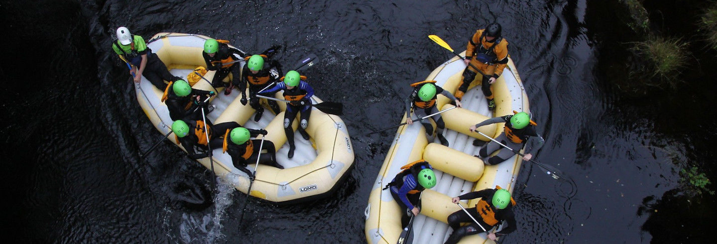 White Water Rafting on the River Tummel