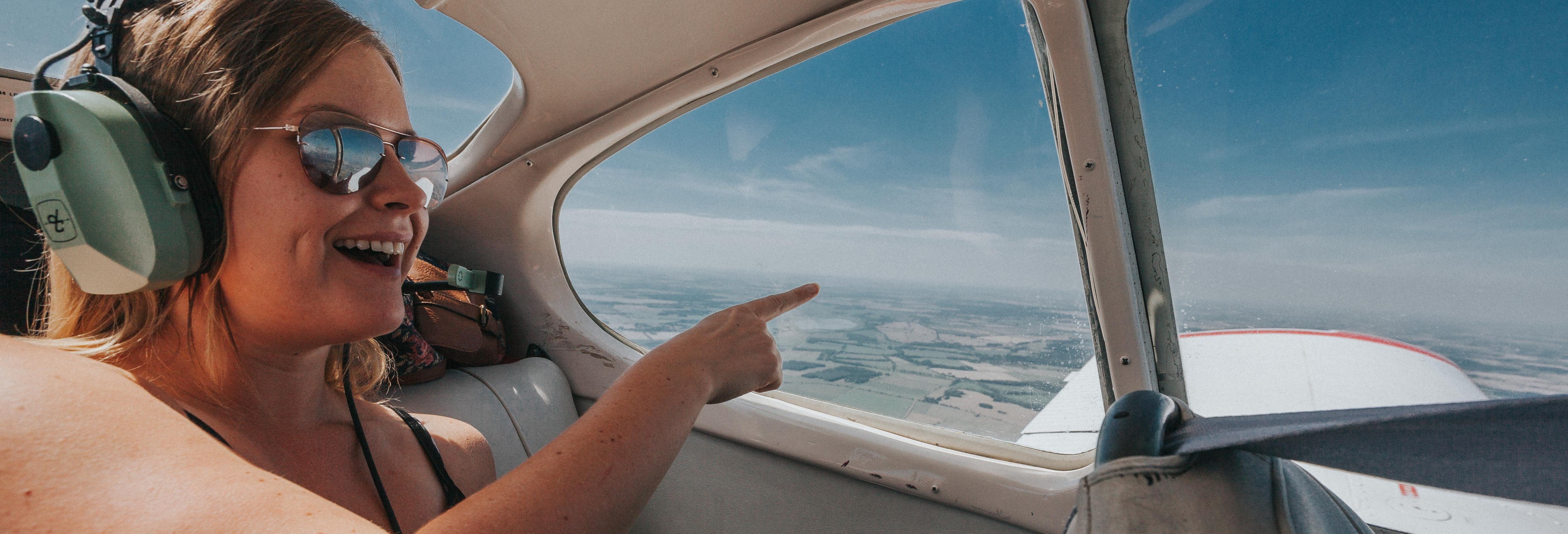 Paseo en avioneta por Portsmouth