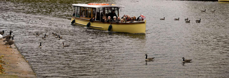 Paseo en barco por Stratford-upon-Avon