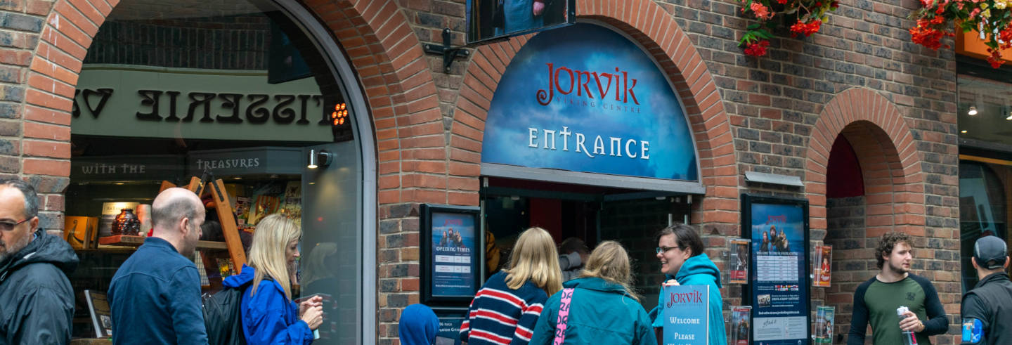 Ingresso do Jorvik Viking Centre