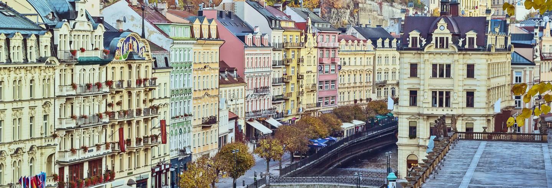 Tour privado por Karlovy Vary con guía en español
