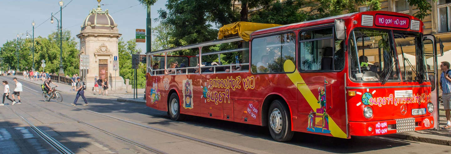 Prague Hop-On Hop-Off Bus Tour