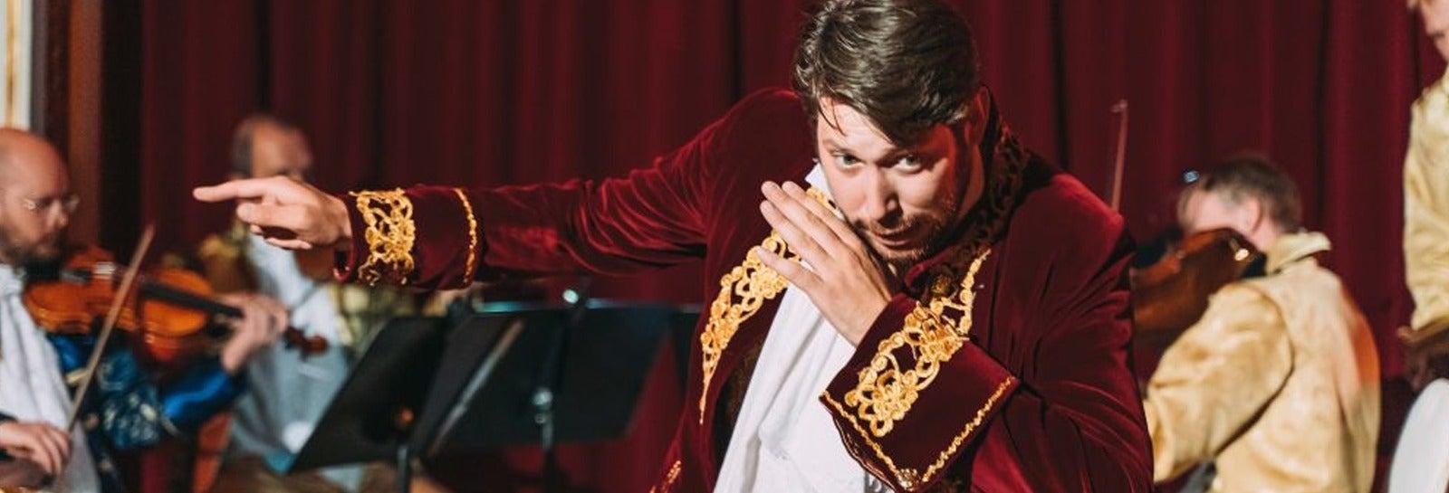 Cena y concierto de Mozart en el Grand Hotel Bohemia