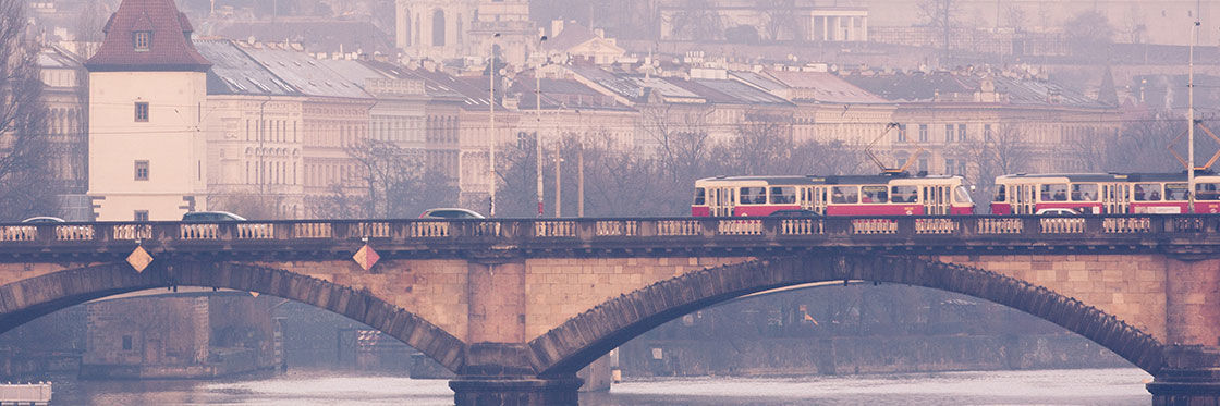 Transporte em Praga