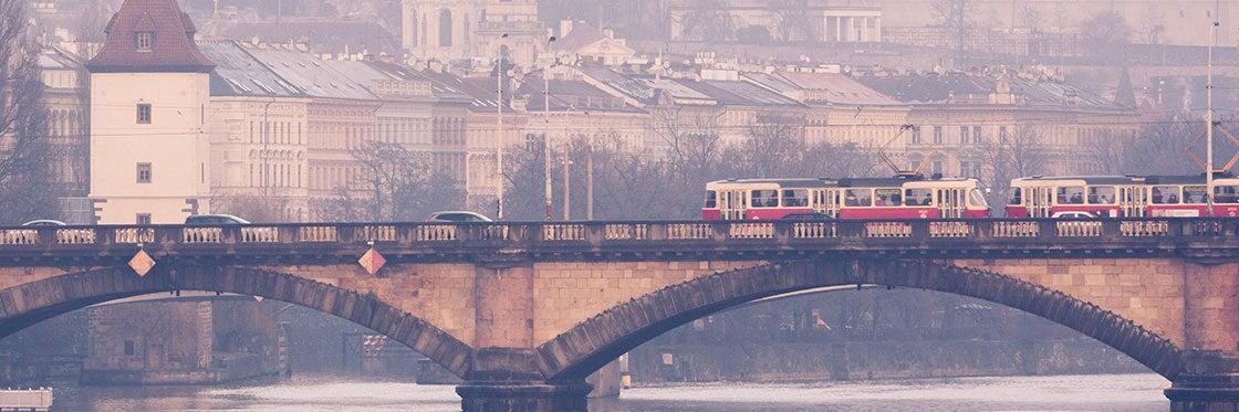 Transports à Prague
