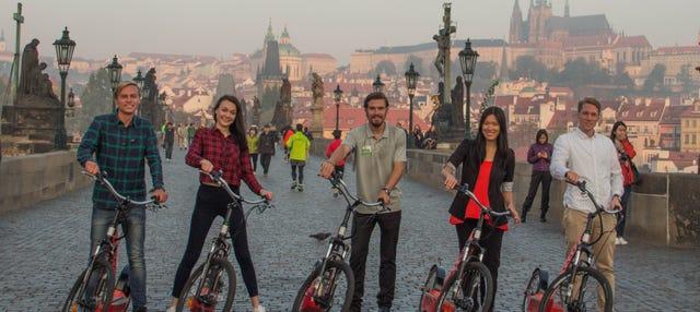 Tour en patinete eléctrico por Praga