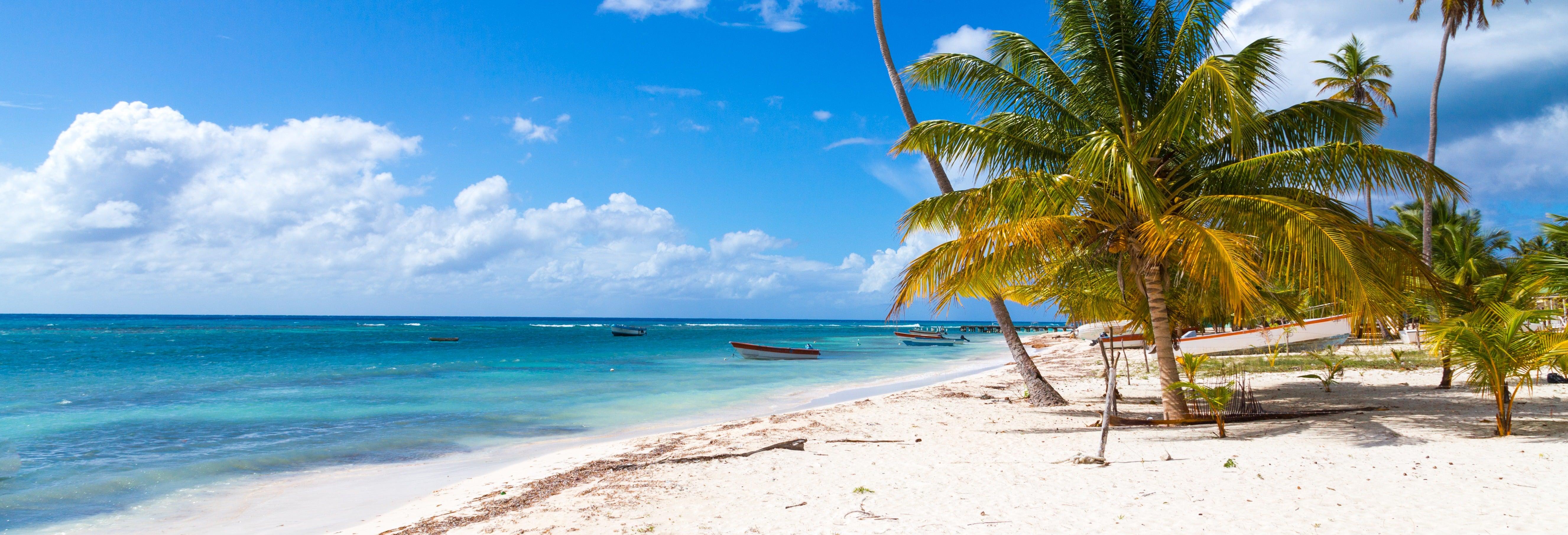 Tour pelas praias da ilha Saona
