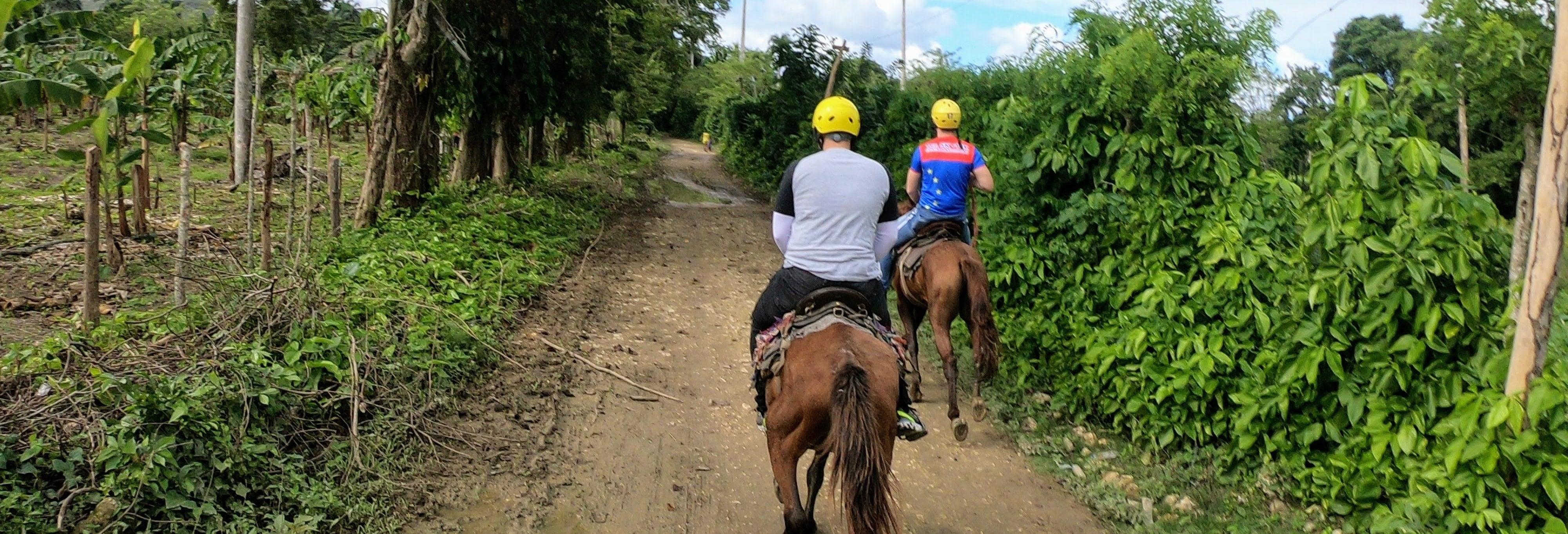Paseo a caballo por Jamao al Norte