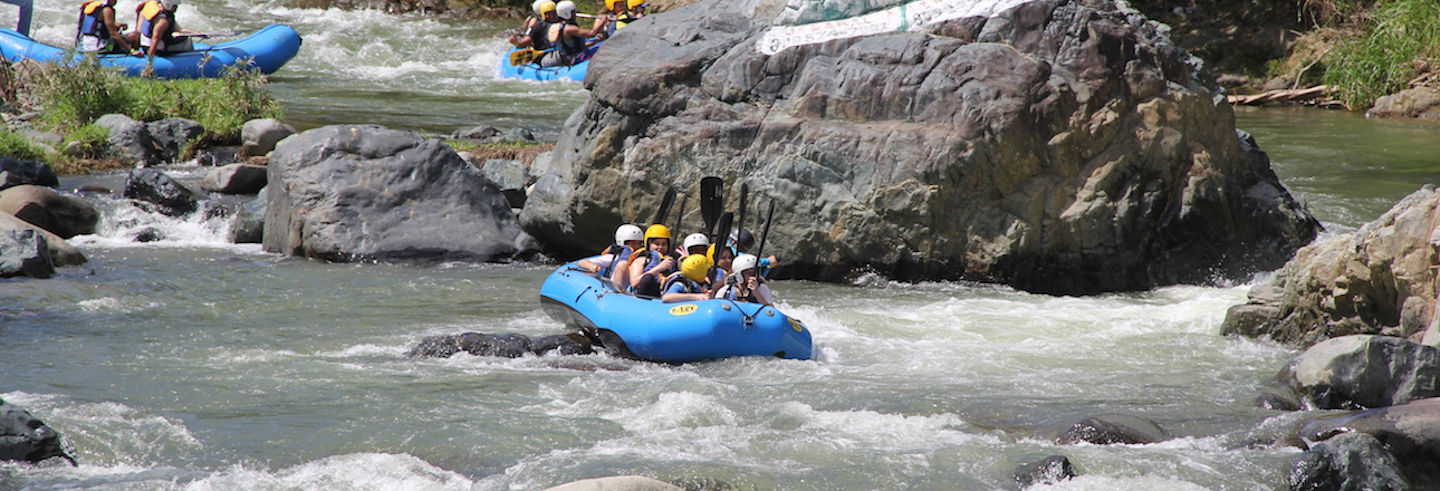 Rafting in the Yaque Del Norte River
