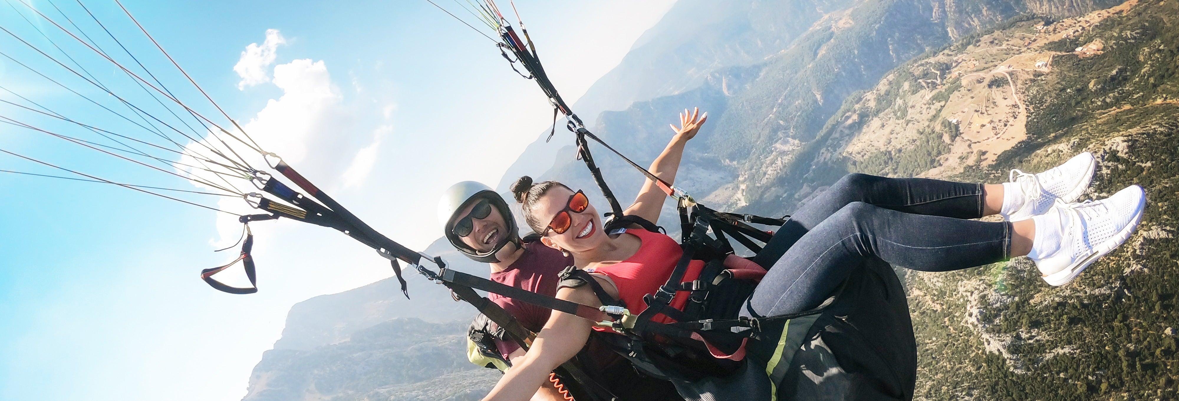 Paragliding in Jarabacoa